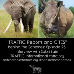 In Episode 25, we're talking about TRAFFIC reports and CITES with Sabri Zain from TRAFFIC International.